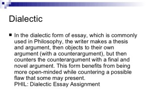 DIaelect Essay